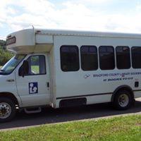 bradford county bookmobile windowed side