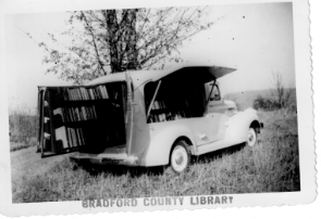 bradford county original bookmobile historical